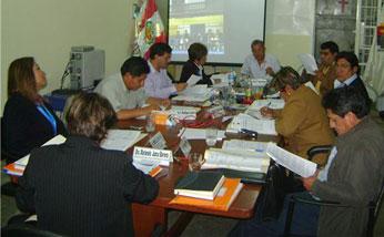 Consejo regional de Lima Provincias.