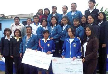 Ganadores del el I Concurso Provincial Para el Desarrollo de Competencia Comunicativas Matemática Científica