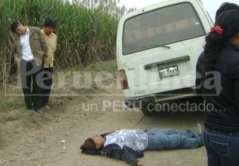 El delincuente abatido recibió dos impactos de bala
