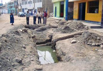 Trabajos de  Rehabilitación del Sistema de Agua Potable y Alcantarillado