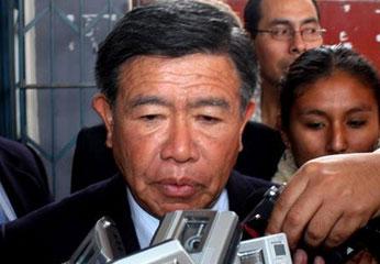 Nelson Chui Mejía, Presidente del Gobierno Regional de Lima.