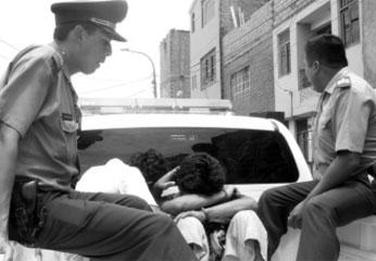 Jóvenes delincuentes caen en acertado despliegue de la Policía de Nuevo Imperial