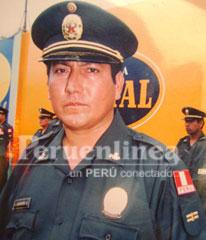 Sub oficial Andrés Gamarra Guillen.