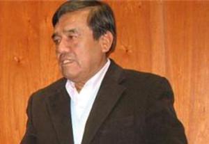 Alcalde de la Provincia de Huaura, Pedro Zurita Paz.