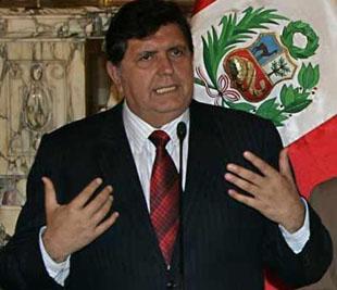 Presidente del Perú Alan García
