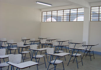 Aulas de la UNJFSC en Lunahuana