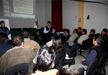 El evento estuvo dirigido a similares profesionales de los gobiernos locales de la región, así como de la sociedad civil.