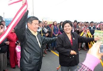 Presidente Regional de Lima Nelson Chui Mejía