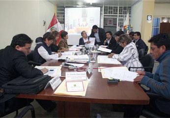 Consejo Regional de Lima.