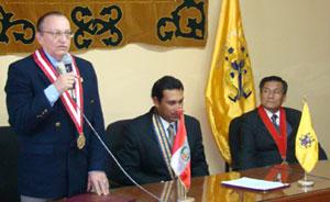 Fiscal Supremo José Antonio Pelaez.