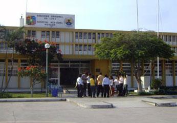 Hospital regional de Huacho.
