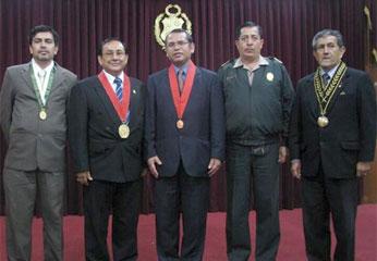 Integrantes del Código Procesal Penal.
