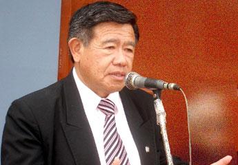 Nelson Chui Mejía Presidente regional de Lima.