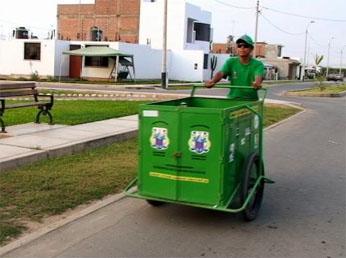 Labor descentralizada en el servicio del manejo de la basura llega ahora a la ex hacienda Palo en Herbay Alto