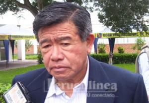 Presidente Regional Nelson Chui.