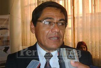 Lic. David Leandro Roca, presidente del Directorio de I. E: Columbia.