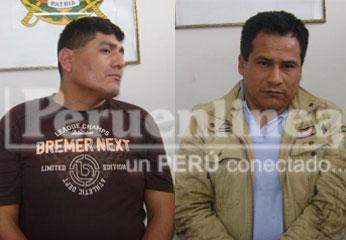 Los sospechosos fueron trasladados al penal de Carquín.