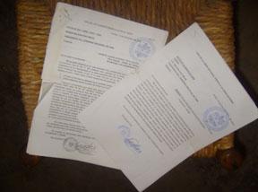 Documentos formulados por el Sr. Gobernador, preocupado por el costo y buen uso del dinero de los contribuyentes en la carretera.