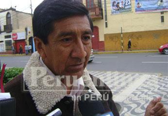 Sindicalistas de la base de Carquín  Faustino Delgado
