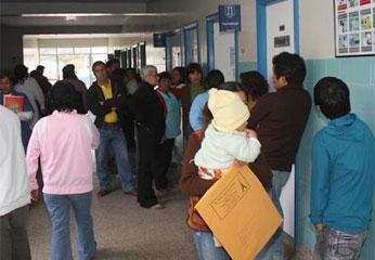 Se ha presentado un caso sospechoso de A/H1N1 también en Chilca