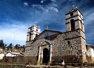 Iglesia San Juan Bautista (Ayacucho - Perú). Cortesía Promperú.