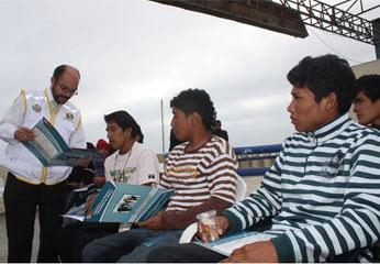 La evaluación de los jóvenes se llevó a cabo en las instalaciones de la Gerencia de Desarrollo Social, ubicado en el Malecón Roca de la ciudad de Huacho, y contó con la presencia de la representante de PROJOVEN, Carmen Cruz Torres, y el Director Regional de Trabajo y Promoción del Empleo, Dr. Javier Salas López.