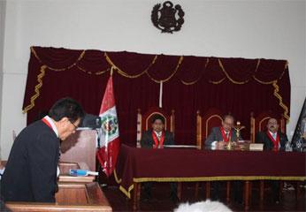 Audiencia sobre sede regional.