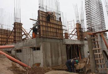 Construcción de sede regional.