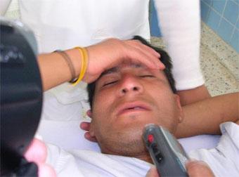 Trabajdor de Andahuasi herido de bala