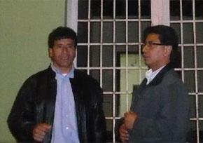 Vicente Sánchez felicitó a Waldo Núñez luego de las elecciones internas