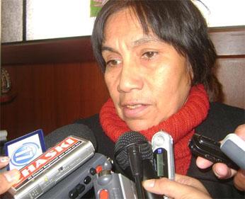 Vicerectora de la UNJFSC Aurora Ríos Colan  FOTO:Peruenlineape