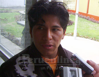 Aníbal García, empresario víctima del robo.