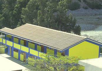 Institución educativa del distrito de Catahuasi.