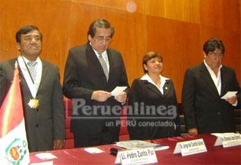 En visita a Huacho el ex premier Jorge del Castillo Gálvez, invitado por las autoridades de Huacho