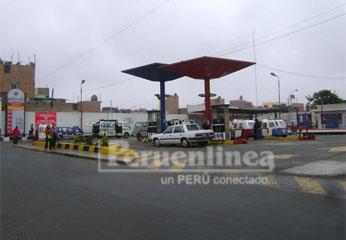 Grifo de la empresa Petro OIL de Huacho.
