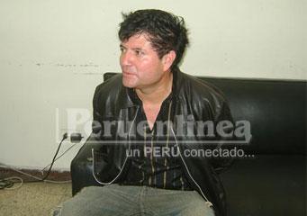 Jorge Santillán ex policía.