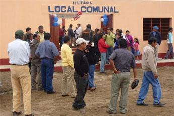 Local comunal.