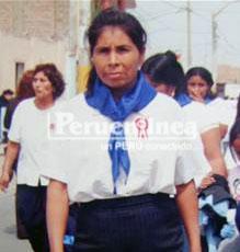 María Manrique Matos.
