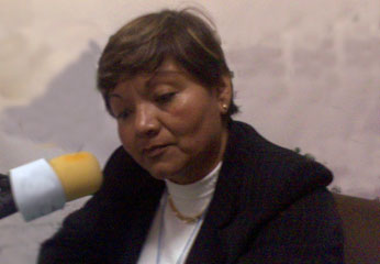 Consejera regional Marianela Junco.
