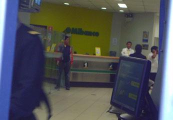 Caja de Ahorros y Créditos Mi Banco, en Huacho.