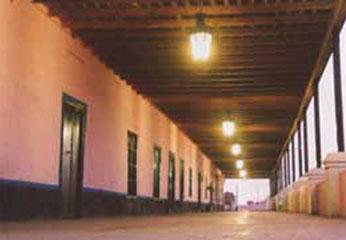 Casa Hacienda Montalban de San Vicente en la provincia de Cañete.