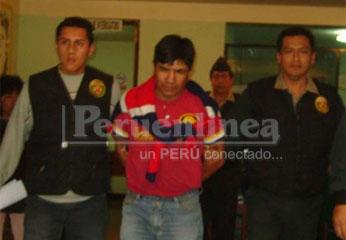 Captura de Jorge Hildebrando Salvador presunto violador de su hijastra.