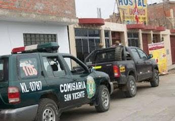 Foto Cañete Hoy. Patrulla San Vicente  - Cañete.