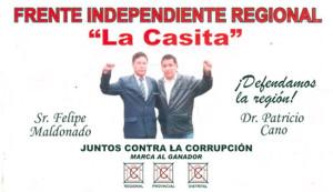 Confianza Perú pidió a Italo Maldonado deslinde públicamente si comparte responsabilidad