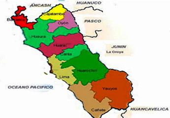 Región Lima Provincias.