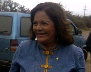 Congresista Rosario Sasieta.
