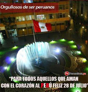 Feliz Fiestas Peru 2013