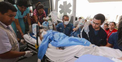 Brasil envía piel humana para las víctimas de deflagración por fuga de gas en Villa El Salvador