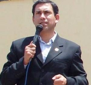 Alcalde Provincial de Cañete Javier Alvarado Gonzales del Valle