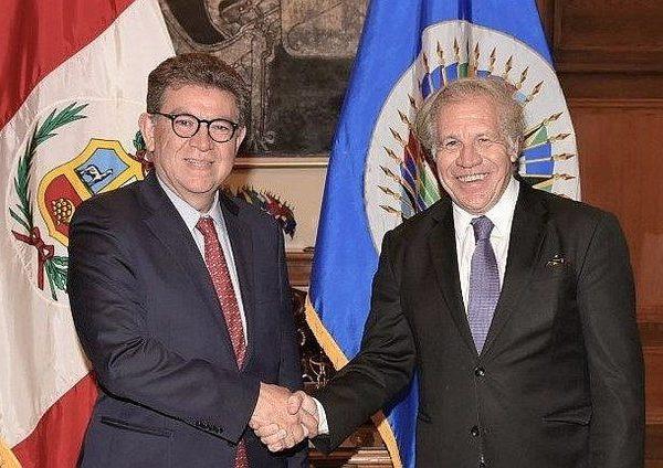 OEA enviará al Perú misión de observación electoral con miras a elecciones parlamentarias